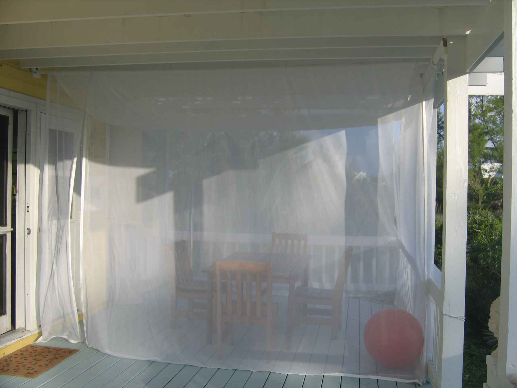 Outdoor Mosquito Netting Curtains Curtains And No See Um Netting Curtains