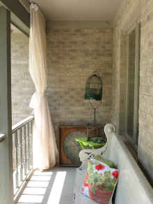 Outdoor Curtains   Screen Porch
